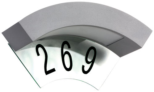 Luxform  230V Canning House Number Wall Light
