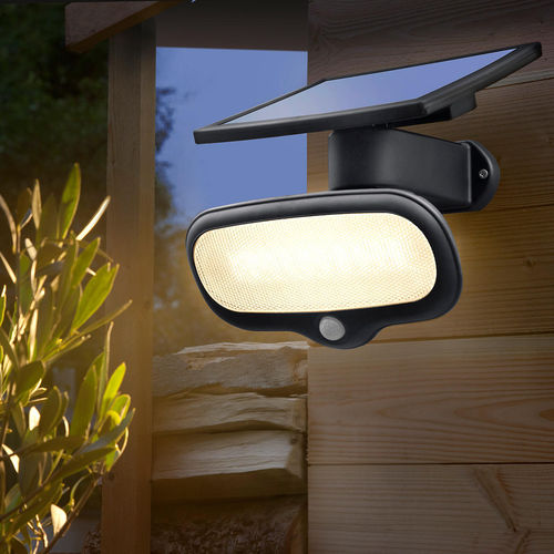 Luxform Solar LED Security Wall Light with PIR =  Buenos Aires