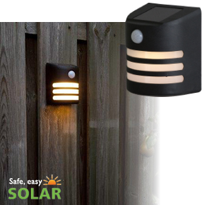 Luxform Solar Wall Light with PIR = Gap