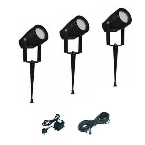Luxform Miniature Spot Light - Esperance (3 Set 10 metre Single Leg)